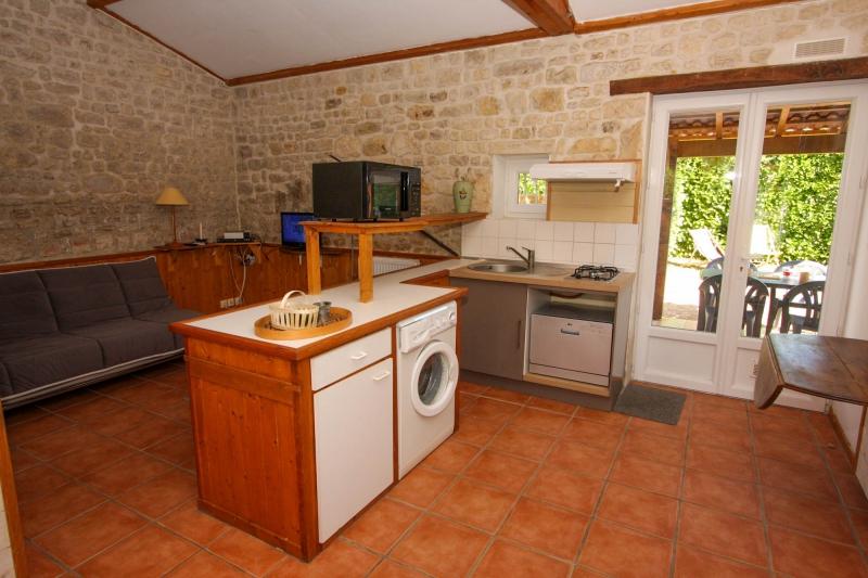 cuisine toute équipée du gite 4 personnes en Vendée